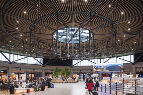 Le Terminal 1 de l'Aéroport Lyon  Saint Saint-Exupéry officiellement inauguré  HTThumbnail
